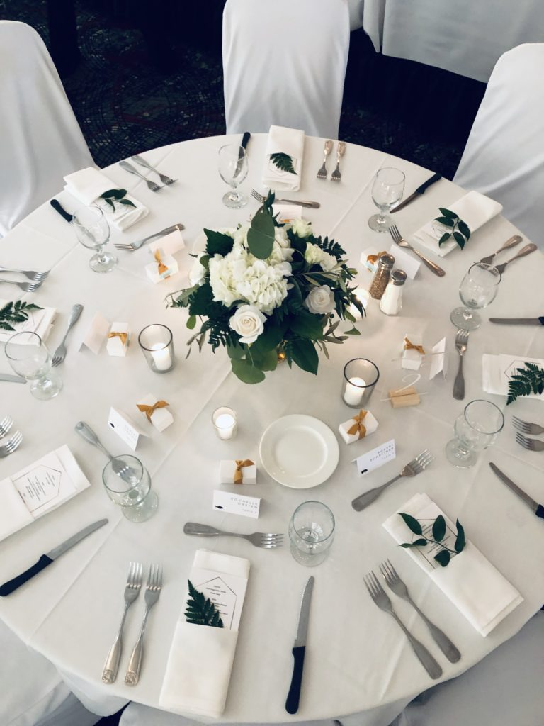 Wedding Guest Table